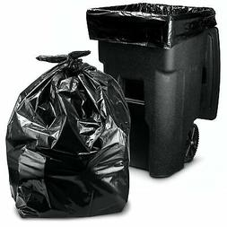 95 Gallon Trash Bags, Extra Large Garbage Bags, Equivalent t