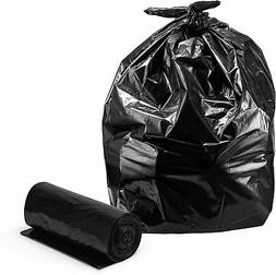 Trash Bags 33 Gallon, Large Black Trash Bags, 100/Coreless R