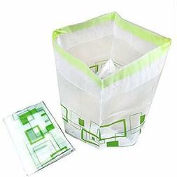 trash bags stand folding garbage holder portable