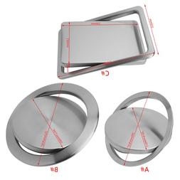 Trash Bin Counter Top Cover Built-in Flap <font><b>Garbage</