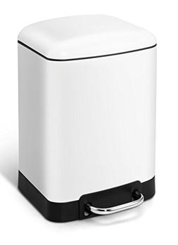 Cslives Trash bin 6Liter / 1.59Gallon Stainless Steel Rectan