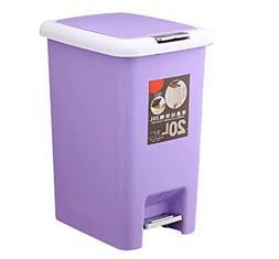 SKKGN Step Trash can, Creative Household Plastic Trash can L