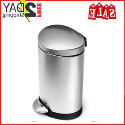 Trash Can With Lid Bathroom Touchless Small Office Cans Stai