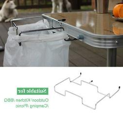 trash can bracket dustbin cage garbage bag