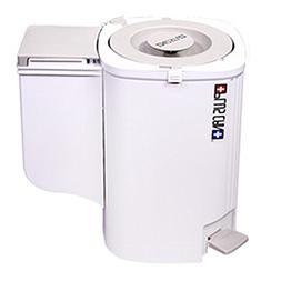 PlusCan Trash Can Compression Odor blocking 10 Liter