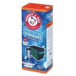 Arm & Hammer 3320084116 Trash Can & Dumpster Deodorizer, Spr