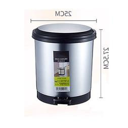 10l Trash can Environmental protection Plastic No Stainless