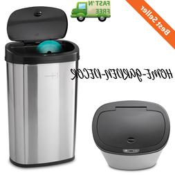 trash can garbage automatic motion sensor stainless