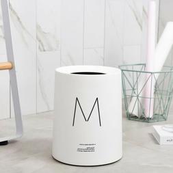 Trash Can Garbage Can Waste Basket for Bathroom Bedroom Offi
