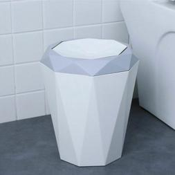 Trash Can Kitchen Living Room Office Garbage Rubbish Case St