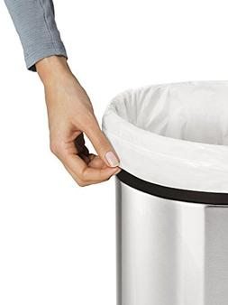 simplehuman Custom Fit Trash Can Liner B, 6 Liters / 1.6 Gal