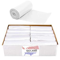 Trash Can Liners Clear 7-10 Gallon 1000 pk Bulk Recycling Of