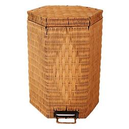 Art Trash can For Home,Garbage can with lid Foot pedal Net m