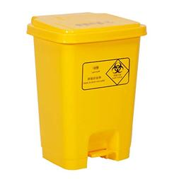 AIDELAI Trash can- Outdoor Plastic Trash Can,pedal Lid Waste