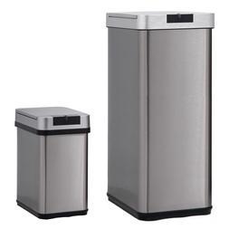 BestMassage Trash Can For Office Kitchen Bathroom Bedroom St