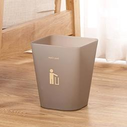 GJ Trash Can Scrub Household Square Without Cover Storage Bu