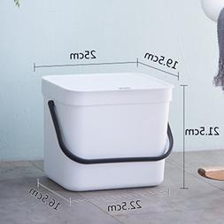 Trash can Slim Simplicity,Garbage can with lid 12l North eur
