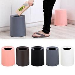 Trash Can Small Round Step Garbage Can Wastebasket Bathroom