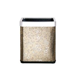Trash can Stainless steel thick household without cover tras
