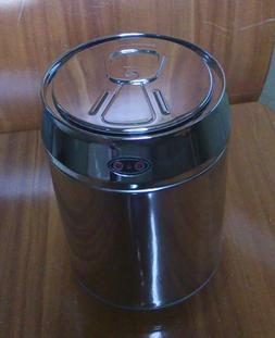 Trash Can Stainless Steel Touchless Motion Sensor Garbage Bi