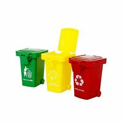 Original Color Trash Can Toy,Garbage Truck's Trash Cans, Min