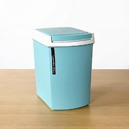 10l Trash can For Kitchen,Garbage can with lid Foot pedal Du