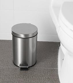 Step Trash Can Waste Litter Garbage Kitchen Storage Basket B
