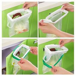 Trash Garbage Bag Hanging Rack Kitchen Bath Rubbish Storage