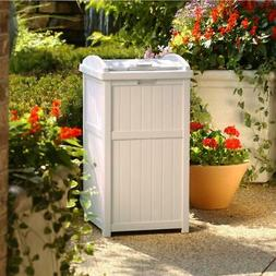 Suncast Trash Hideaway Storage Bin Box