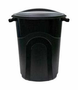 United Solutions  Rough & Rugged  32 gal. Plastic  Garbage C