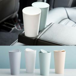 f837a708a US Car Trash Can Garbage Mini Dust Bin Holder Cup Home Offic