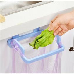 Useful Plastic Door Garbage Trash Bag Box Can Rack Hanging H