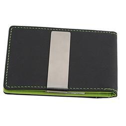 Meolin Vegan PU Leather Slim Leather Wallet Bifold RFID Bloc