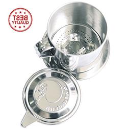 The best quality Vietnamese Coffee filter, made from stainle