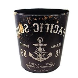 TOPOWER DIY INDUSTRIAL vintage CREATIVE TRASH CAN IN HOME RE