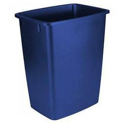 Rubbermaid Waste Basket, 36-Quart, Blue 6-quart, Royal