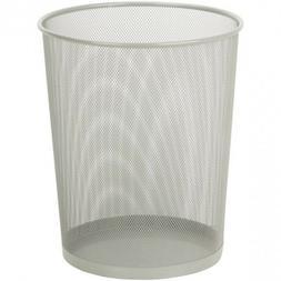 Waste Basket Trash Can Steel Mesh For Bedroom Kitchen Office