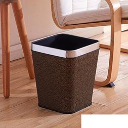 DW&HX Waste bins for kitchens,Creative square without cover