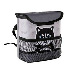 Waterproof Car Trash Can For Litter-Mini ABS Auto Garbage Ba