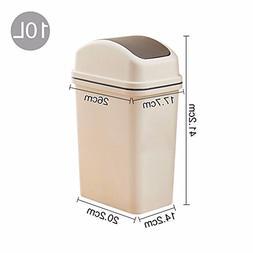 WAWZJ Rubbish Bin Swing Toilet Toilet Garbage Bin Household