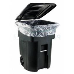 Garbage Can Liners 1.5 Mil Clear Heavy Duty Trash Bags 95-96