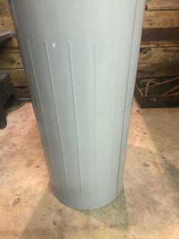 Witt Industries Model #10 fire safe metal trash can Gray Gar
