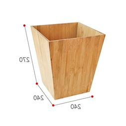 Wooden Garbage cans,Creative Square no lid Simple Trash can