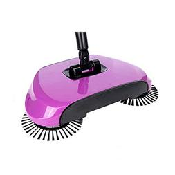 XTELARY Lazy Automatic Hand Push Sweeper Broom Household Cle